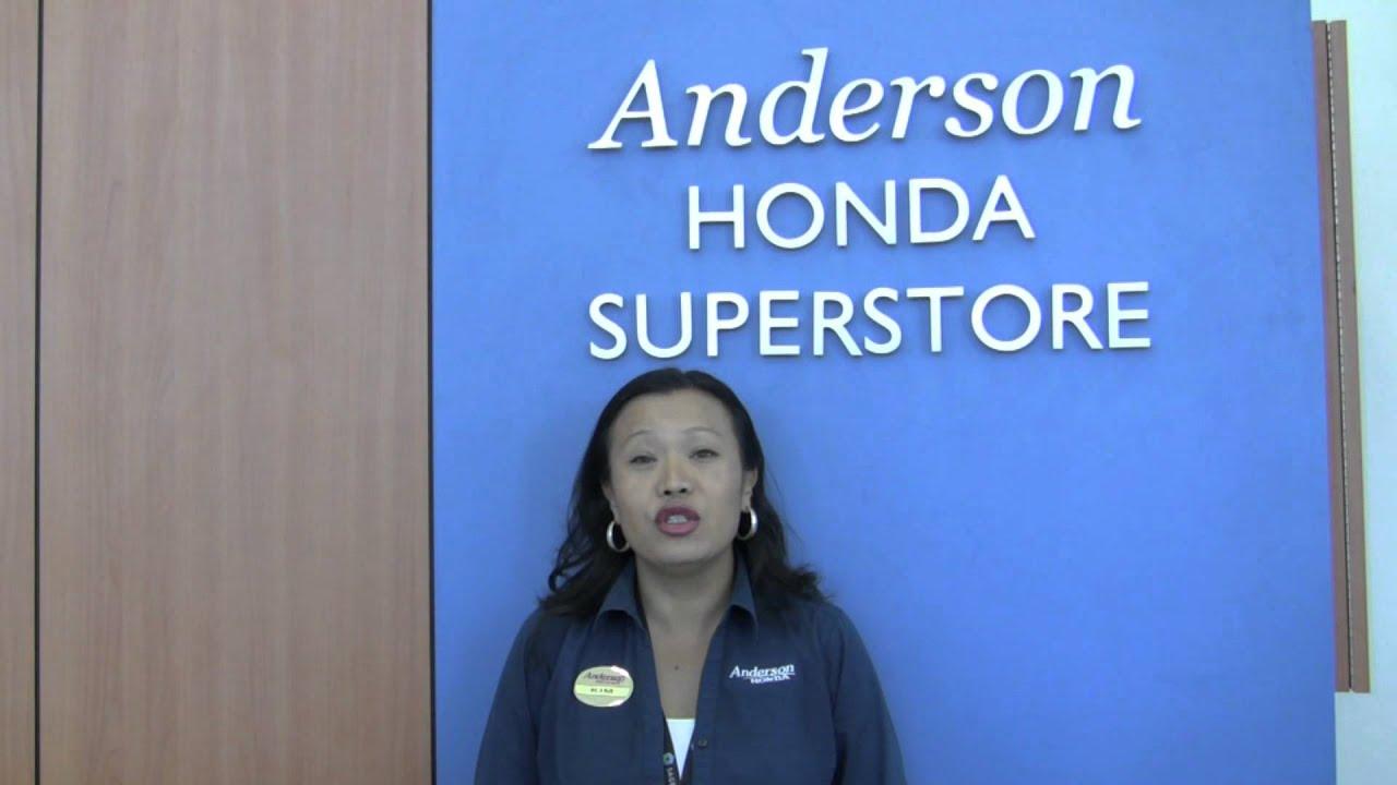 Anderson Honda, Palo Alto, CA   Kim Introduction