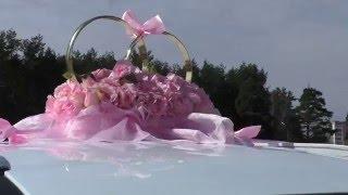 Украшение на свадебную машину Milana