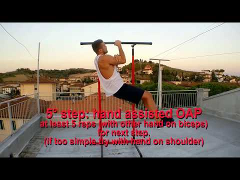 Quick Tutorial OAP (One Arm Pull-up) on PULL-UP MATE