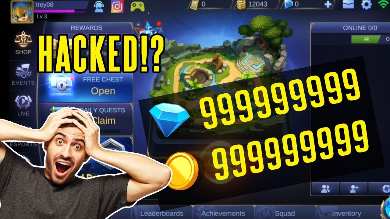 Mobile Legends Hack 2020 How To Get Unlimited Diamonds Android Ios Mobilelegends Mlhack Youtube