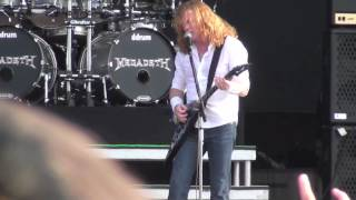 megadeth . angry again . live @ download festival 2012