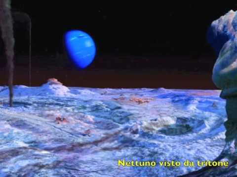 nettuno il pianeta azzurro