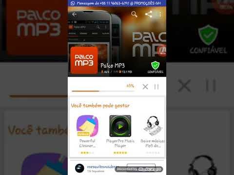 Palco mp3 o melhor aplicativo de baixar musicas