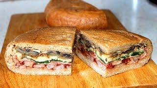 Сэндвич под прессом / Pressed sandwich