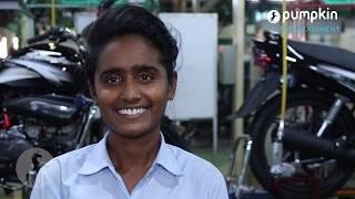 Hero Motocorp gender diversity in factory shop floors