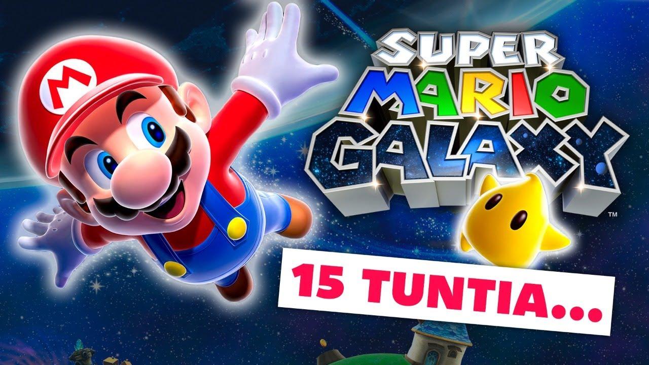 (Osa 2/2) Koko Super Mario Galaxy (HD) KERRALLA LÄPI