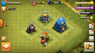 Clash of Clans private server with Th 12 Seige machine , level 13 barracks and more...