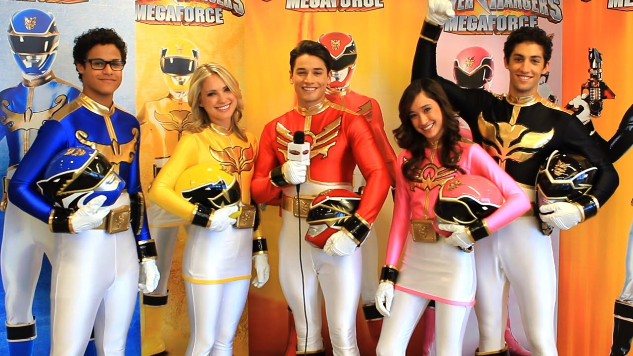 Nick's Power Rangers Megaforce Cast Interview - YouTube