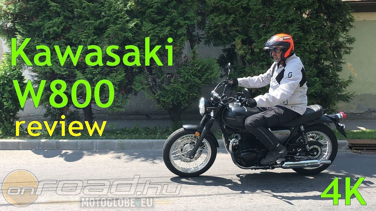 Kawasaki W800 Review (4K)