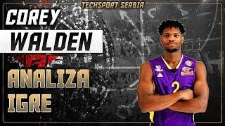 Corey Walden - Analiza igre | KK Partizan 2019/20
