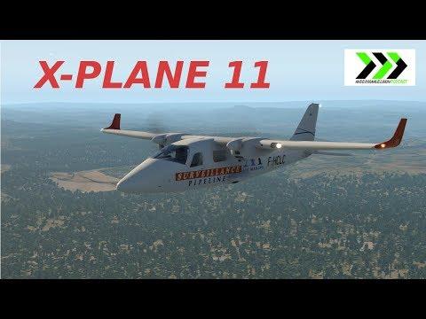 X-plane 11 - review of the Vskylabs Tecnam P2006T