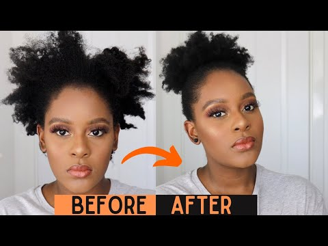 how-to:-quick-afro-puff-with-twist-out-|-natural-4c-hairstyles-|-exclusively-tee.