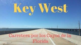 Key West,carretera por los Cayos de Florida