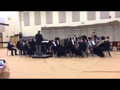 ISSMA lapel middle school Band 2nd song