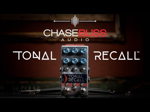 Chase Bliss Audio Tonal Recall Analog Delay Pedal Demo | First Look