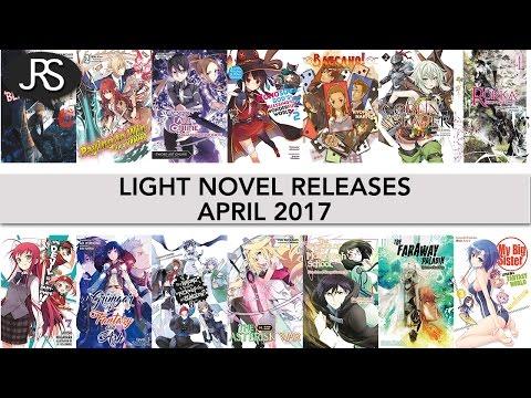 Light Novel Releases for April 2017