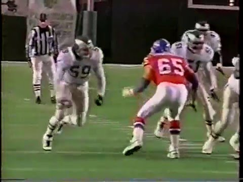 1995 Week 10 Eagles vs Denver clip3