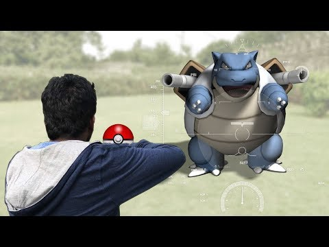 Pokemon GO In REAL LIFE//Blastoise