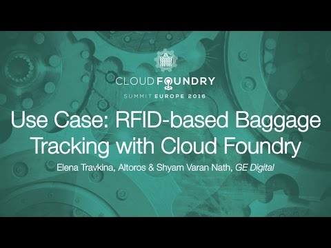 Use Case: RFID-based Baggage Tracking with Cloud Foundry