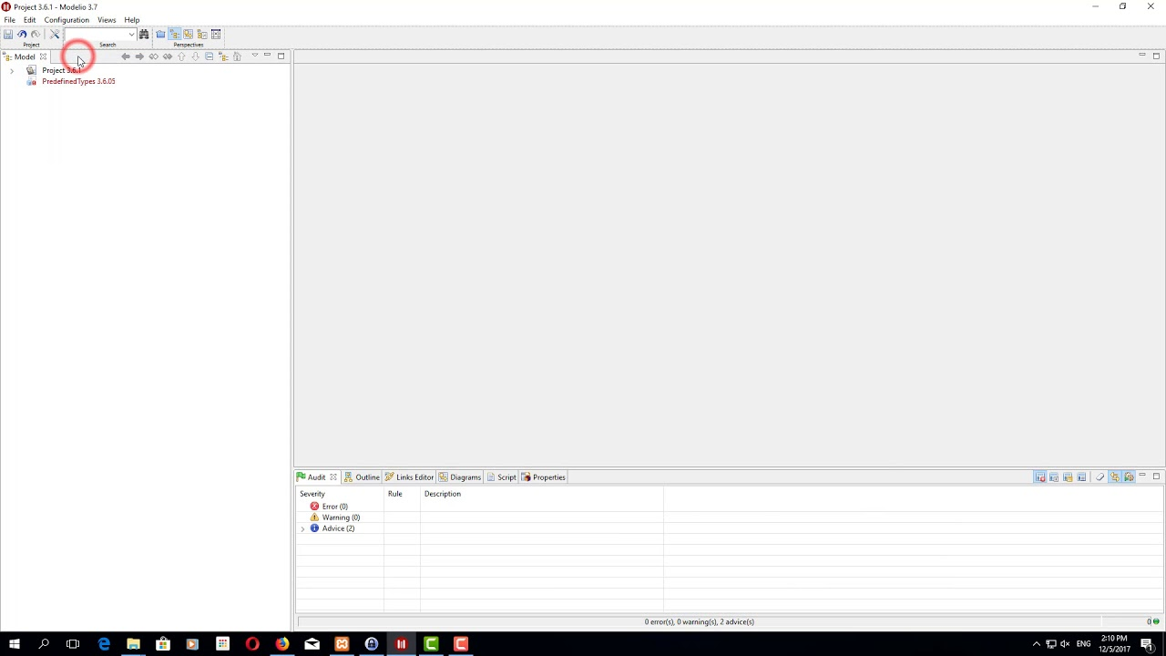 Solved] Project locked, cant open again - Modelio forum