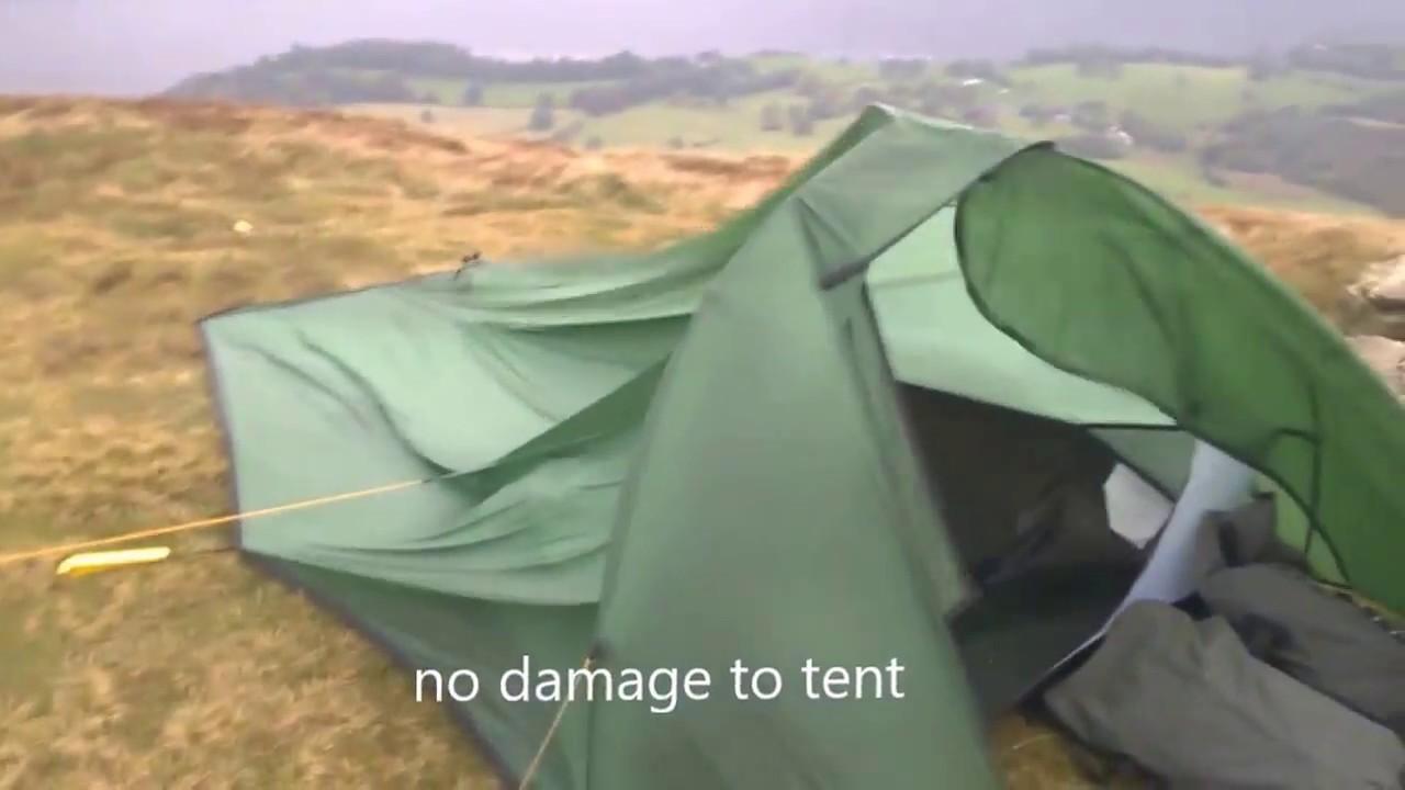 Terra Nova solar competition 2 tent in breezy winds? & Terra Nova solar competition 2 tent in breezy winds? - YouTube