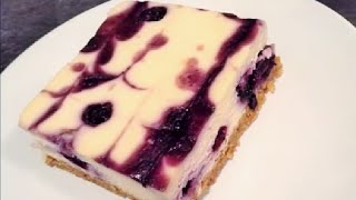 Blueberry Cheesecake - Delicious And Great For Parties!