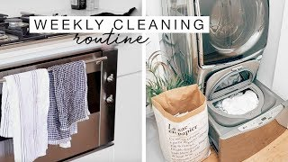 Weekly Cleaning Routine