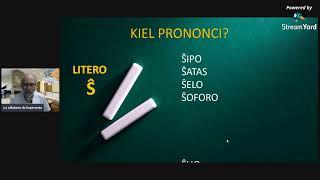 La alfabeto de Esperanto
