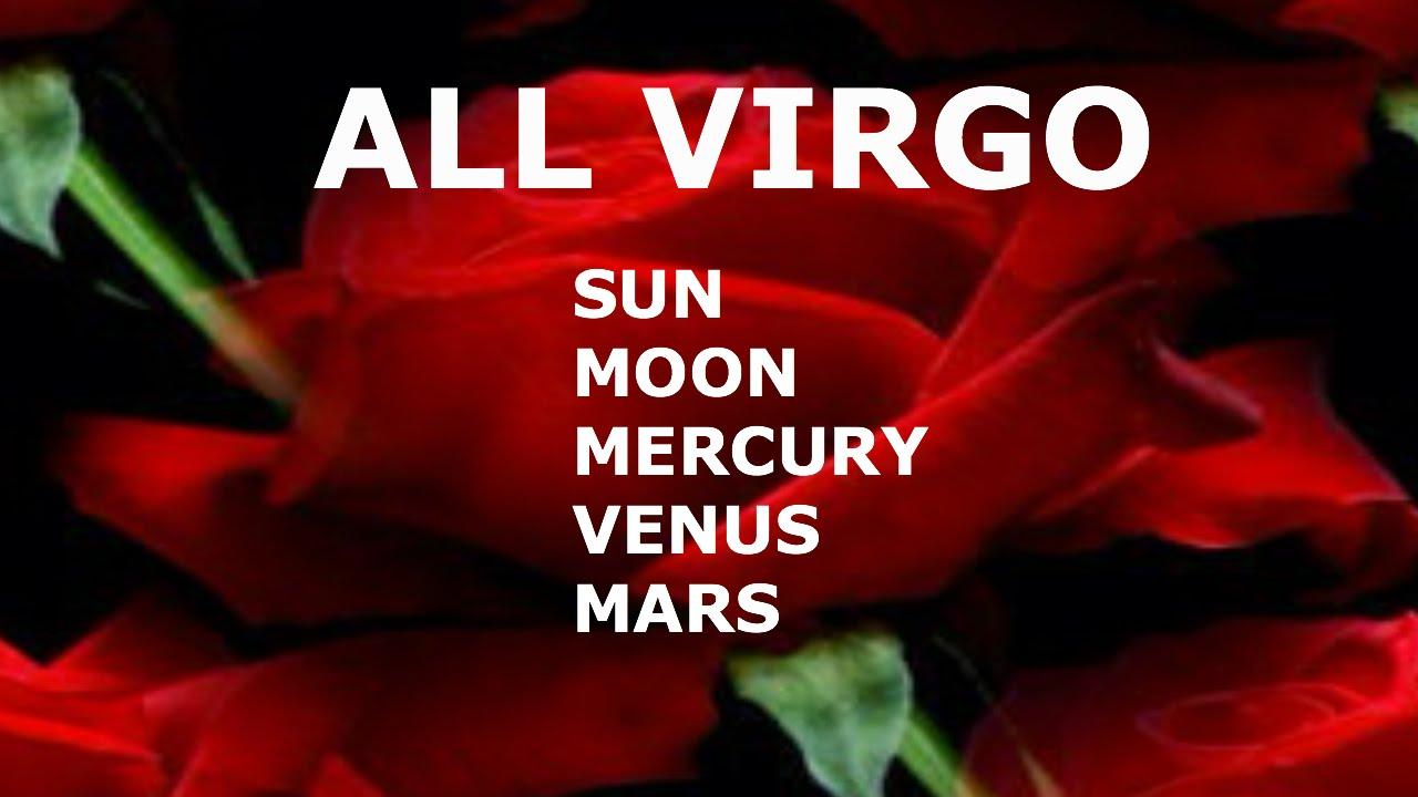 ALL ABOUT VIRGO: SUN, MOON, MERCURY, VENUS, MARS