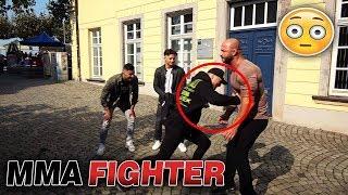Bodypunch von MMA Fighter für 150€ 😳 Soziales Experiment