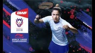 2018 World Junior Badminton Championships Live Court 2 - November 16