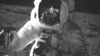 Apollo 17 landing on moon Singing a song (Strolling on the moon one day)  Roy Dawson video