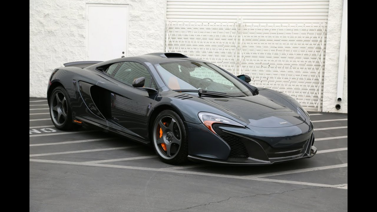 Lamborghini Newport Beach >> McLaren 650S Le Mans Limited Edition at Supercar Show ...