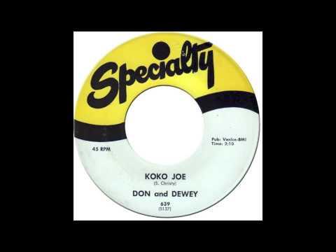 DON & DEWEY - KOKO JOE [Specialty 639] 1958