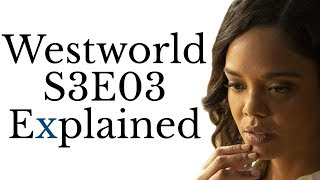 Westworld Season 3 Episode 3 Questions