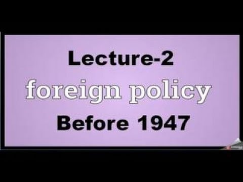 3.1=Indian Foreign Policy Till 1947(Eng+Hindi Med.)