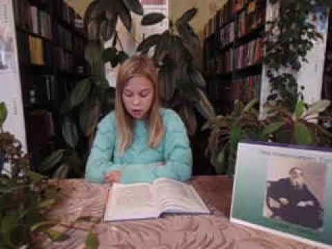 Изображение предпросмотра прочтения – АлинаВоронина читает произведение «Толстой Лев Николаевич Старый дед и внучек» Л.Н.Толстого