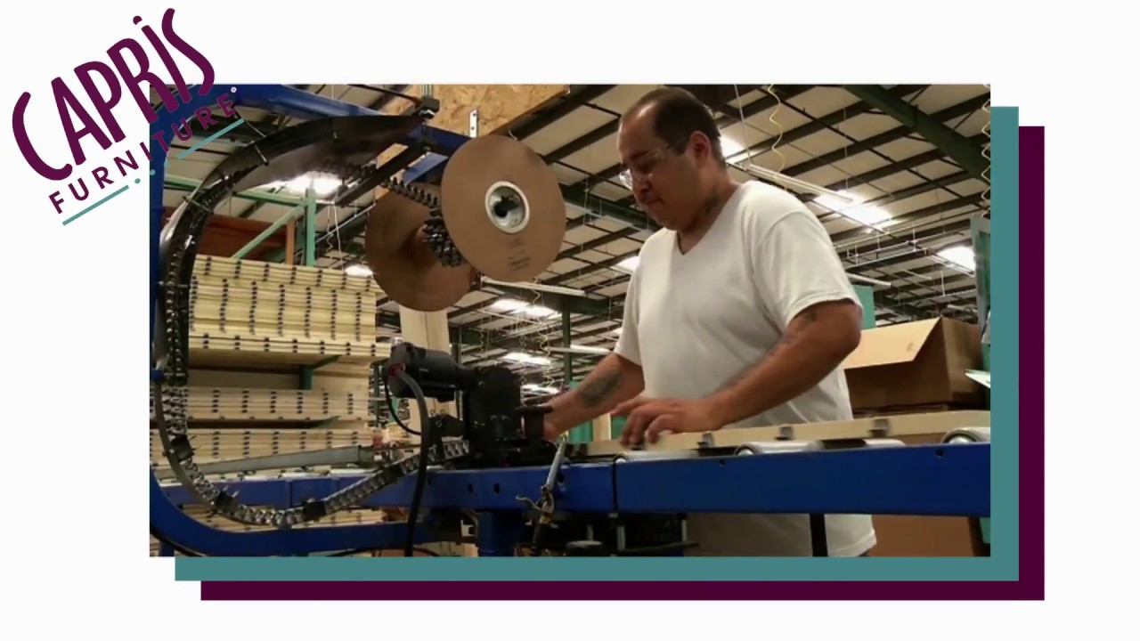 Capris Furniture Industries   Todayu0027s Manufacturing