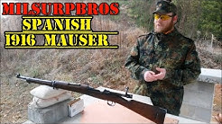 Spanish 1916 Mauser Rifle (7.62x51 CETME Conversion)