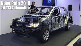 Video Novo Volkswagen Polo 2018 1.0 TSI Automático download MP3, 3GP, MP4, WEBM, AVI, FLV Juli 2018