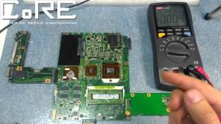 видео Не заряжается ноутбук Asus N61Vg ~ сервисный центр Asus