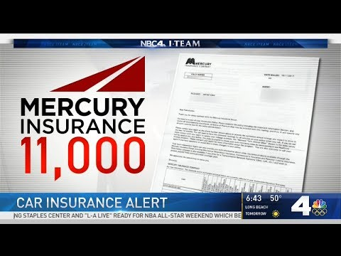 Mercury Insurance Alert