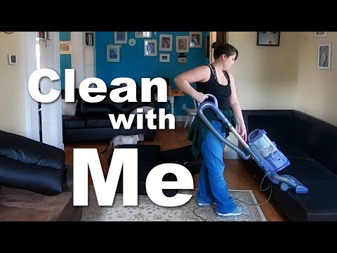 Autism Family DITL+ Clean with Me