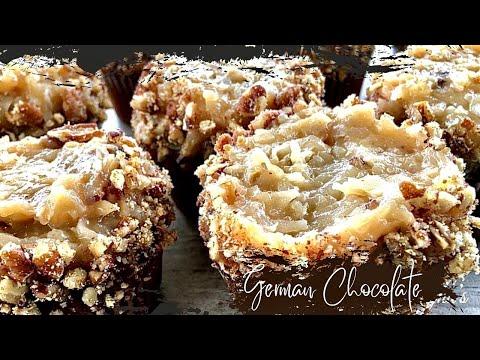 GERMAN CHOCOLATE CUPCAKES | DESSERTS