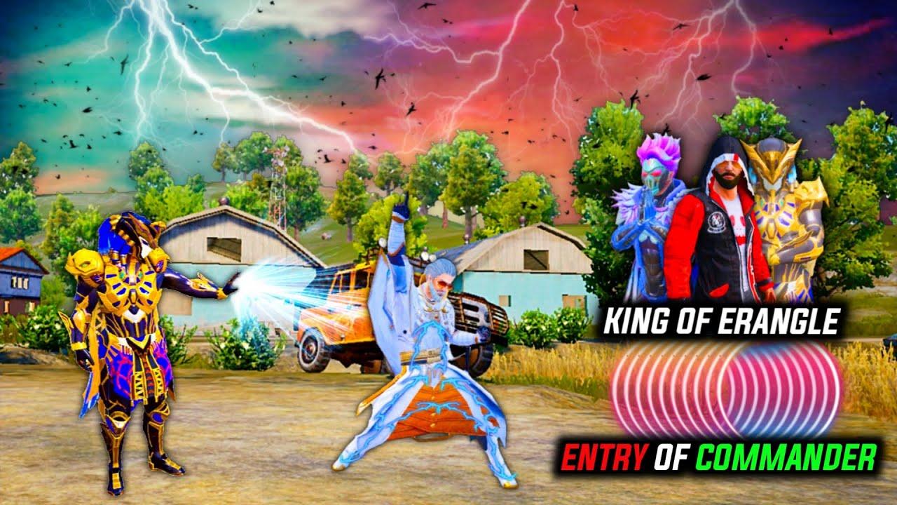 King Of Erangle - Pubg Movie | Entry of Commander | Pubg Short Film