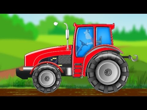tractor formation and uses video for kids and toddlers youtube