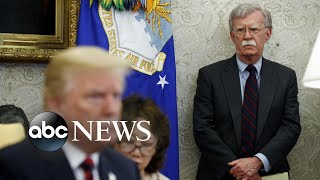 John Bolton summoned to testify in impeachment inquiry