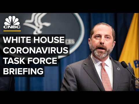 White House's coronavirus task force holds a news conference – 2/7/2020