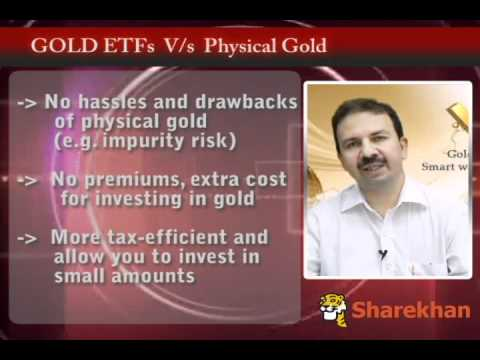 Why invest in Gold ETFs by Sharekhan