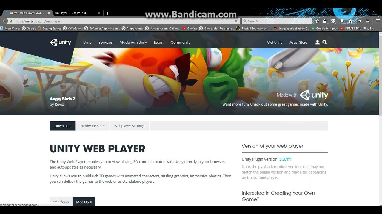 How to download a Unity game and play it offline